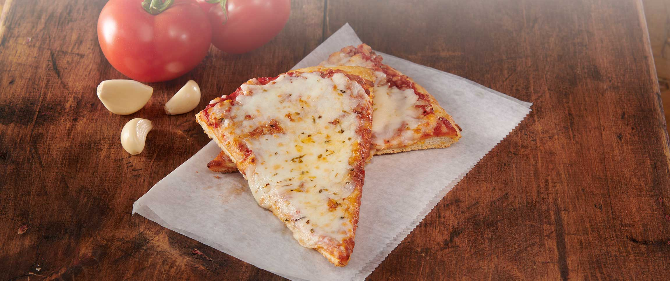 Vai Fresco Cheese Pizza Slices