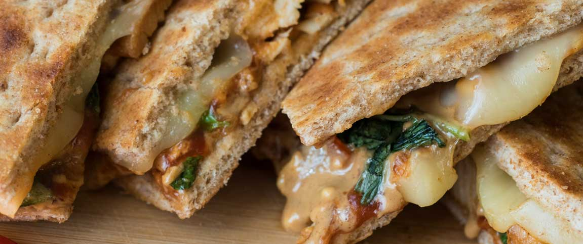 Thai Inspired Grilled Cheese