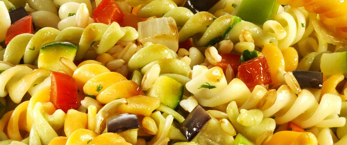 Pasta Salad with Lemon Caper Vinaigrette